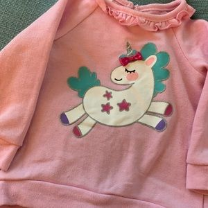 Other - Baby/Toddler Light Pink Sweater with Unicorn